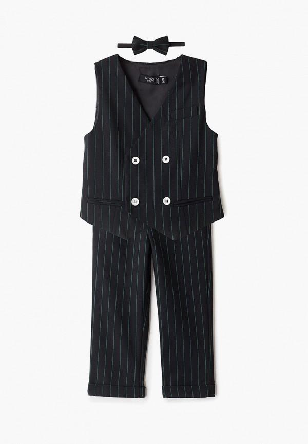 костюм nino kids для мальчика, черный