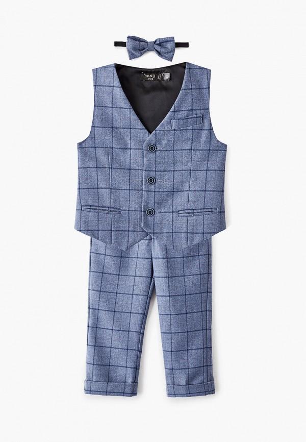 костюм nino kids для мальчика, синий