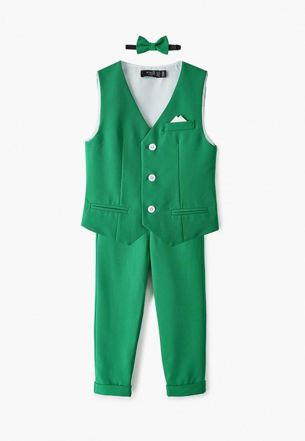 костюм nino kids для мальчика, зеленый