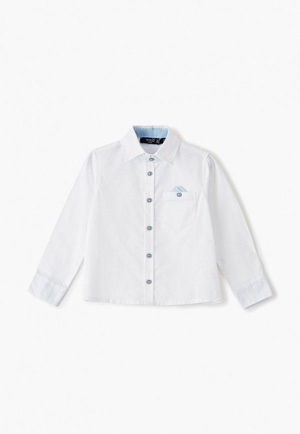 рубашка nino kids для мальчика, белая