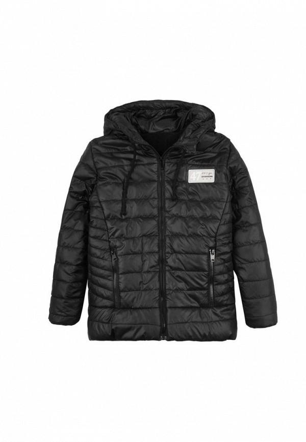 куртка одягайко для мальчика, черная