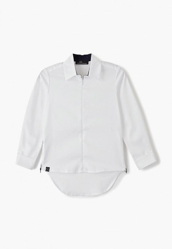 рубашка danmaralex для мальчика, белая
