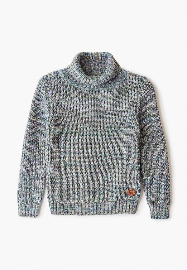 свитер infunt для мальчика, бирюзовый