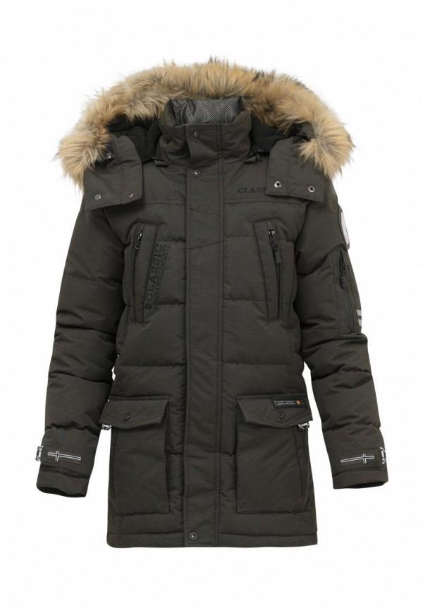 Куртка для мальчика утепленная Jan Steen цвет хаки