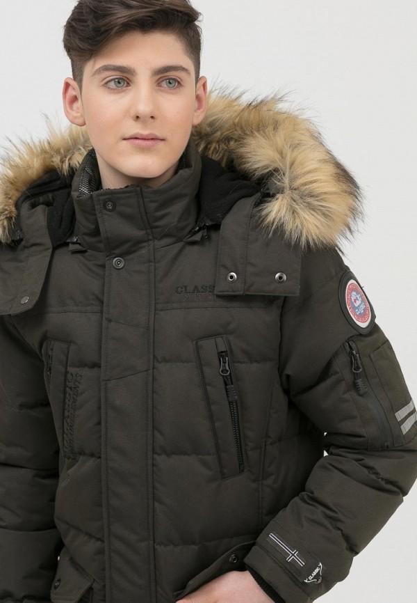 Куртка для мальчика утепленная Jan Steen цвет хаки  Фото 5