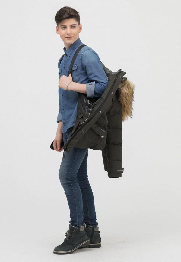 Куртка для мальчика утепленная Jan Steen цвет хаки  Фото 7