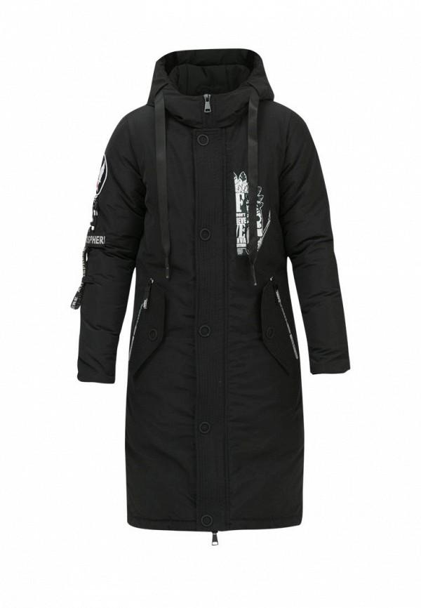 куртка jan steen для мальчика, черная
