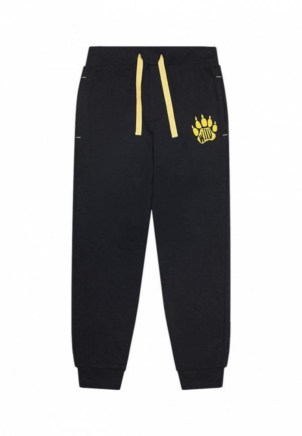 брюки crockid для мальчика, черные