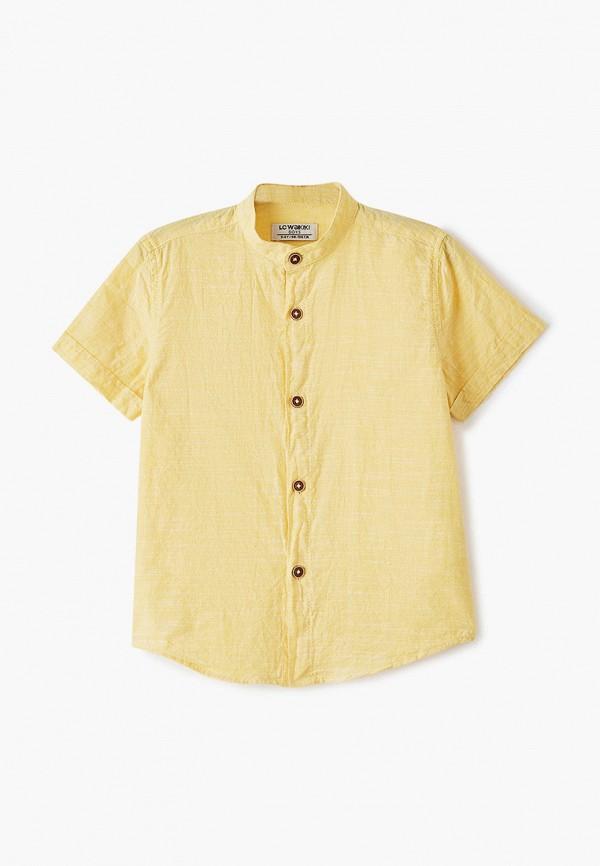 рубашка lc waikiki для мальчика, желтая