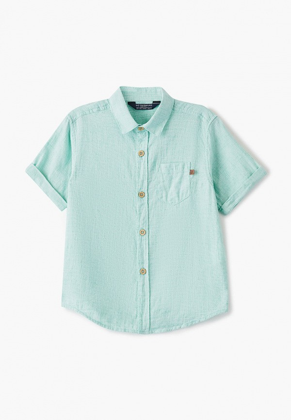 рубашка lc waikiki для мальчика, зеленая