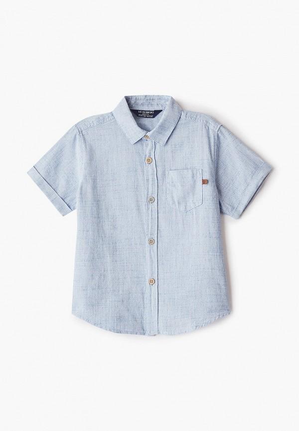 рубашка lc waikiki для мальчика, голубая