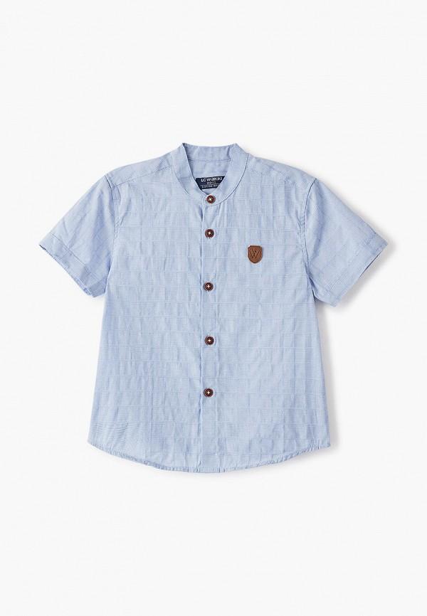 рубашка lc waikiki для мальчика, синяя