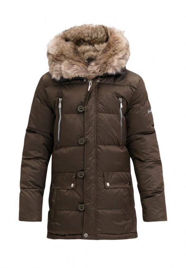 куртка jan steen для мальчика, коричневая