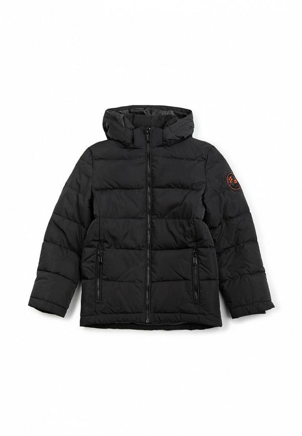 куртка finn flare для мальчика, серая