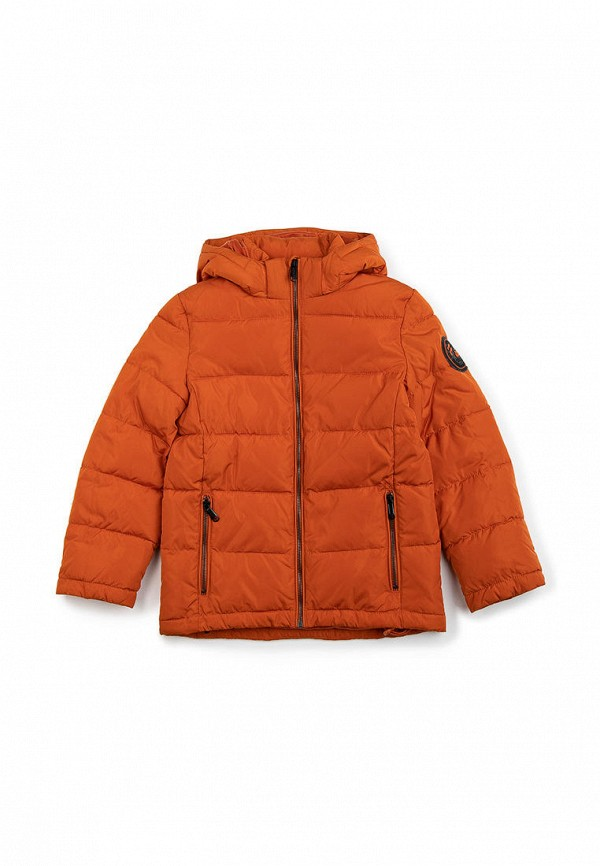 куртка finn flare для мальчика, оранжевая