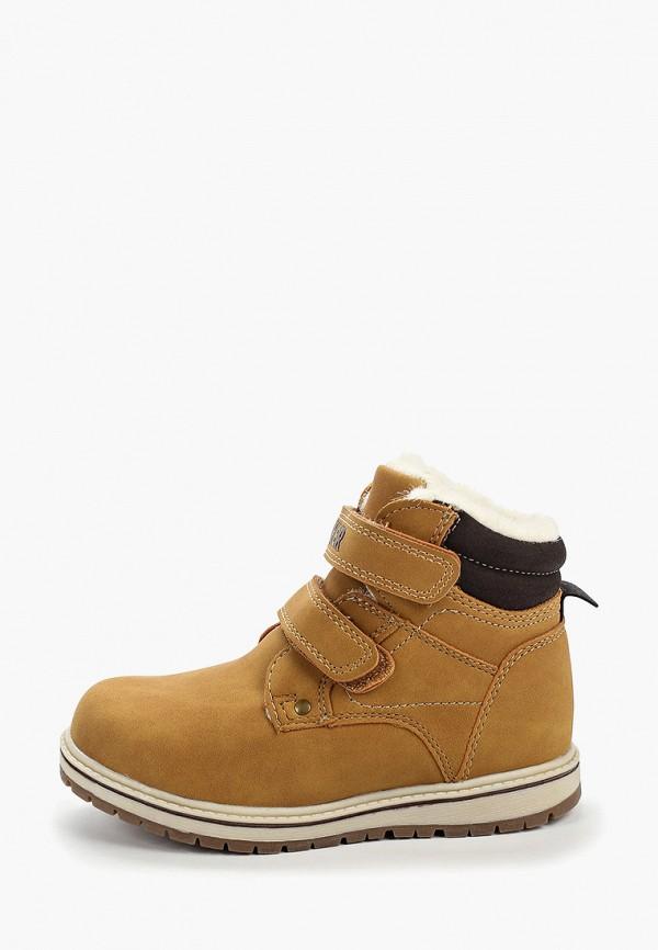 Фото - Ботинки Biker коричневого цвета