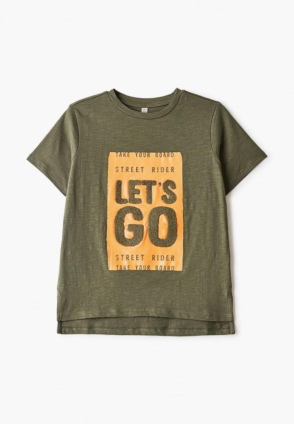 футболка infunt для мальчика, хаки