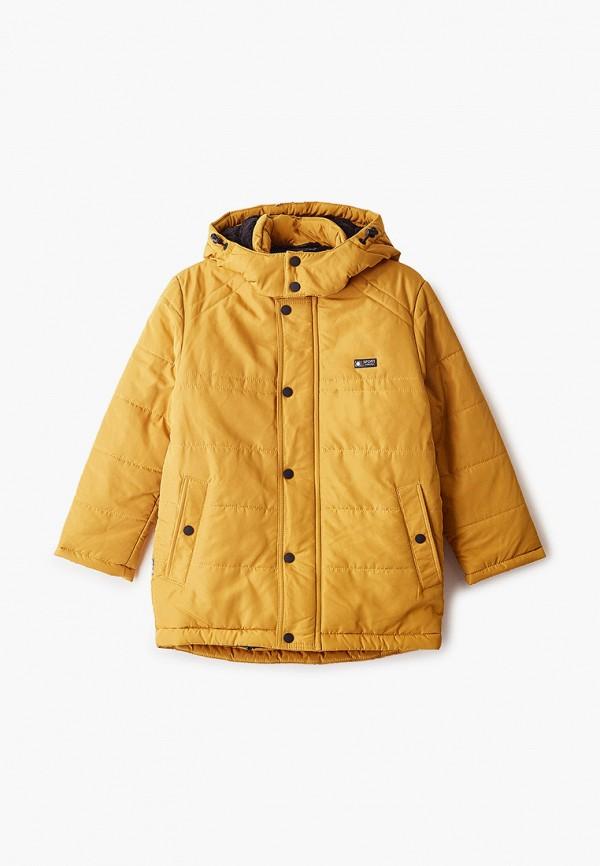 куртка saima для мальчика, желтая