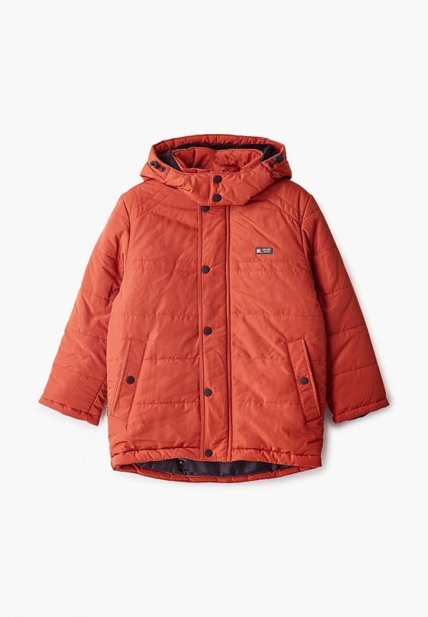 куртка saima для мальчика, оранжевая
