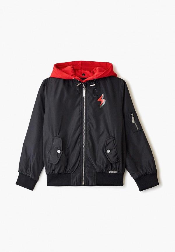 куртка pinetti для мальчика, черная