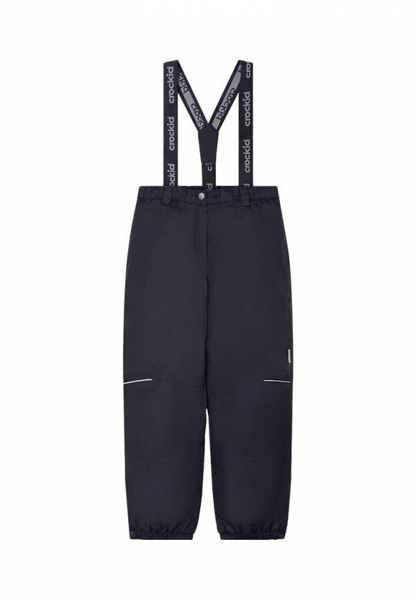 утепленные брюки crockid для мальчика, синие