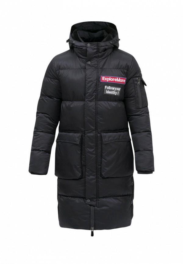 утепленные куртка jan steen для мальчика, черная