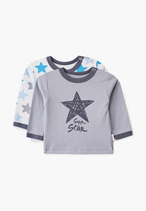 Комплект Веселый малыш Веселый малыш MP002XB00FV2 комплект для мальчика веселый малыш тучки кофточка брюки цвет серый 22136 142 ту серый размер 74