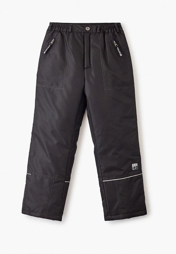 утепленные брюки saima для мальчика, черные