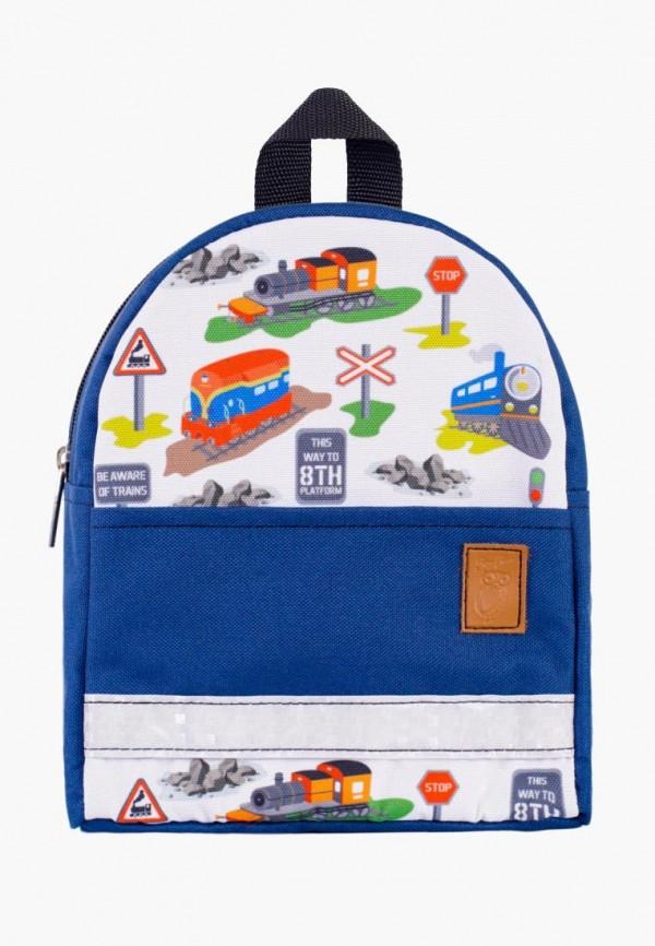 рюкзак zo-zoo для мальчика, синий
