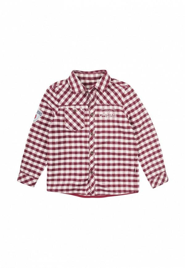 рубашка бемби для мальчика, бордовая