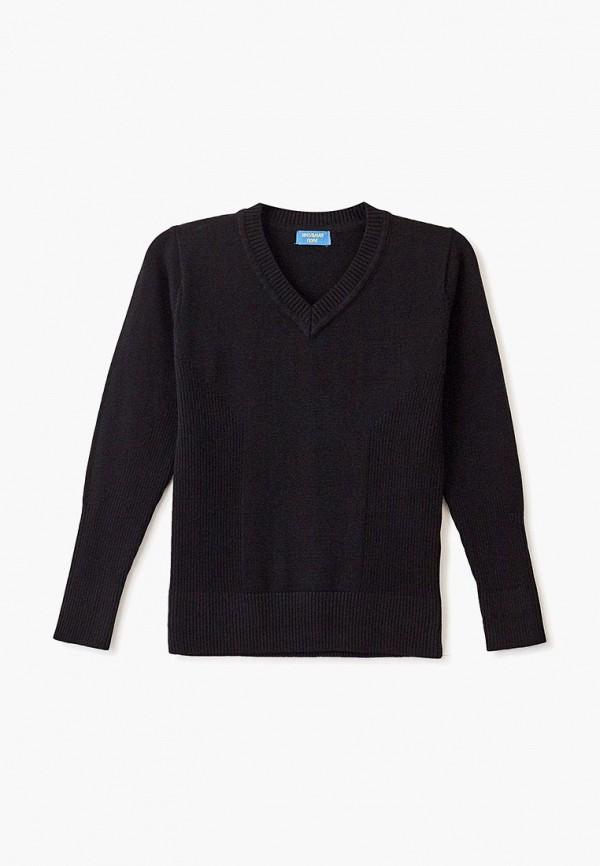 пуловер школьная пора для мальчика, черный