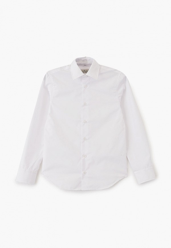 рубашка colletto bianco для мальчика, белая