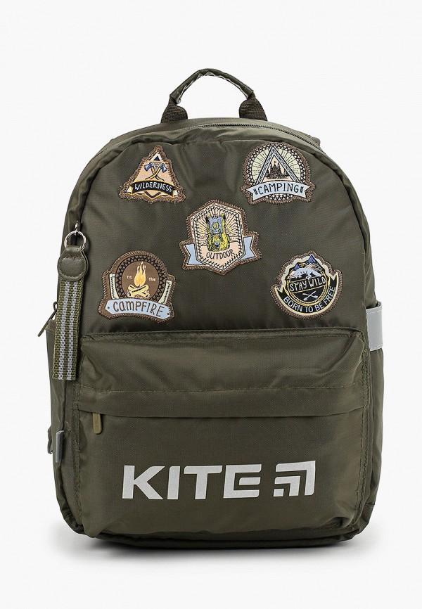 рюкзак kite для мальчика, хаки