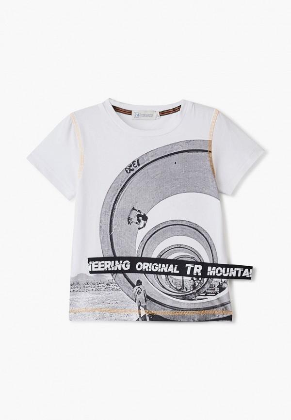 футболка trenders для мальчика, белая
