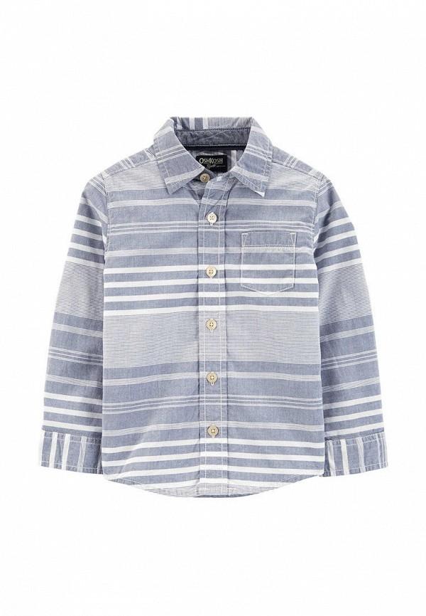 рубашка oshkosh для мальчика, серая