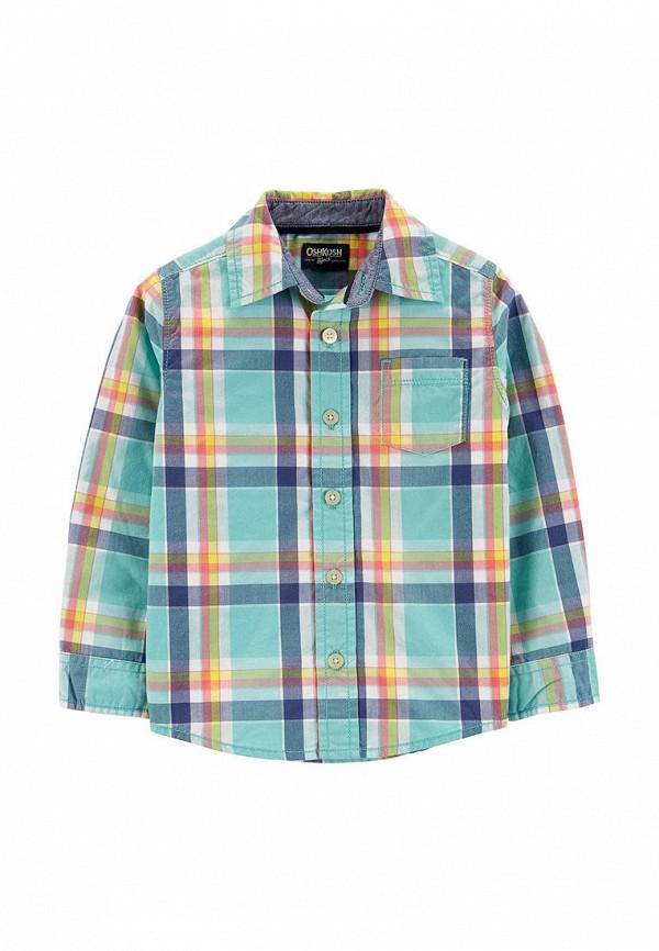 рубашка oshkosh для мальчика, бирюзовая