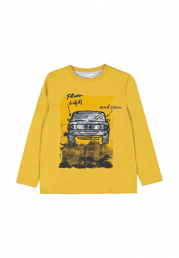 свитшот coccodrillo для мальчика, желтый