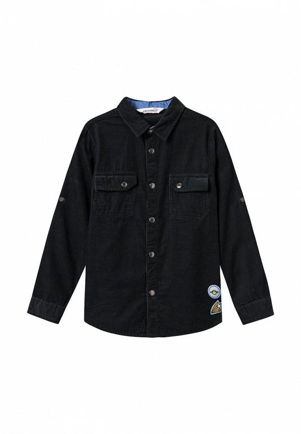 рубашка coccodrillo для мальчика, черная
