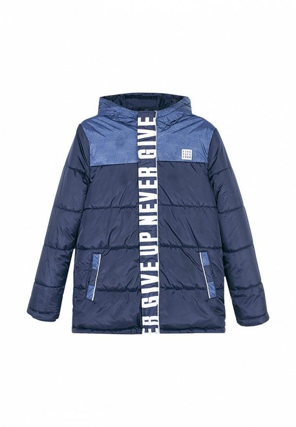 утепленные куртка coccodrillo для мальчика, синяя