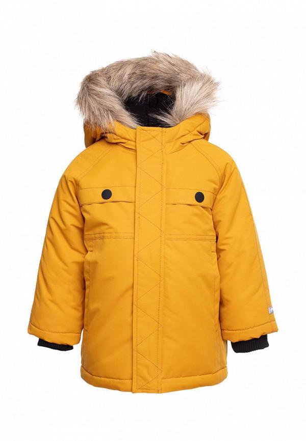 утепленные куртка playtoday для мальчика, желтая