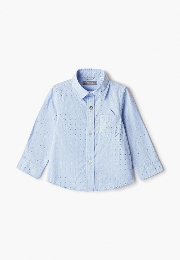 рубашка sarabanda для мальчика, голубая