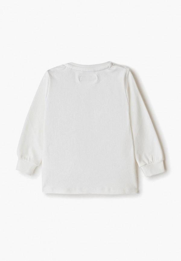 Лонгслив для мальчика Sarabanda цвет белый  Фото 2