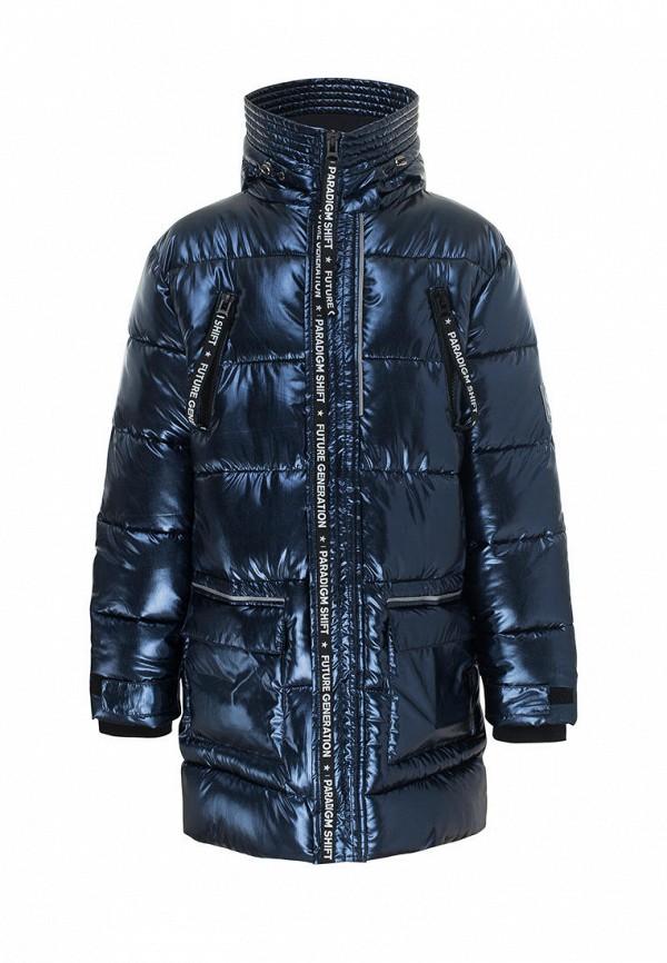 утепленные куртка смена для мальчика, синяя