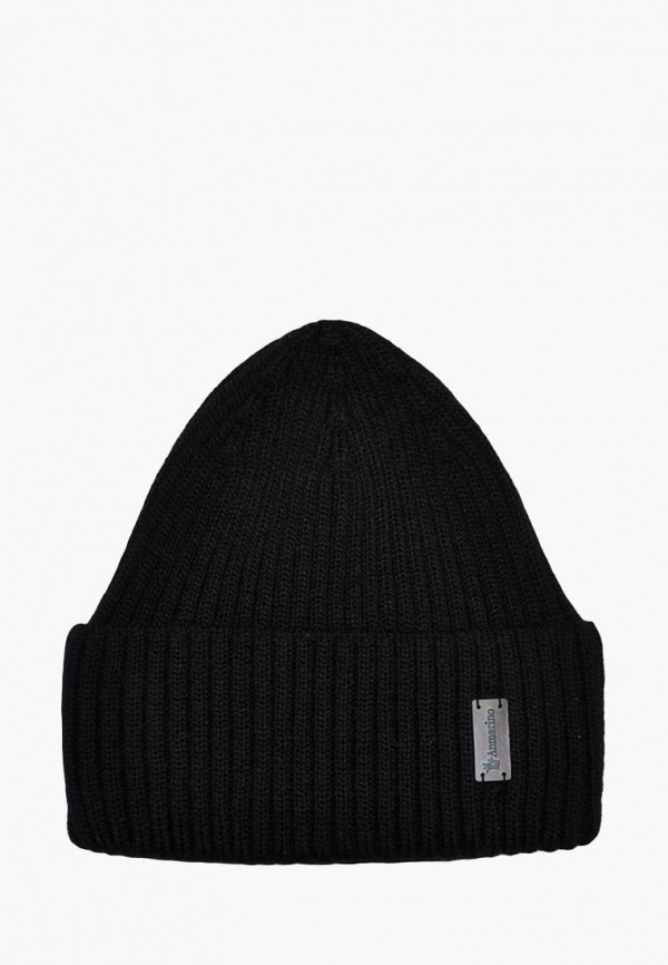 шапка anmerino для мальчика, черная