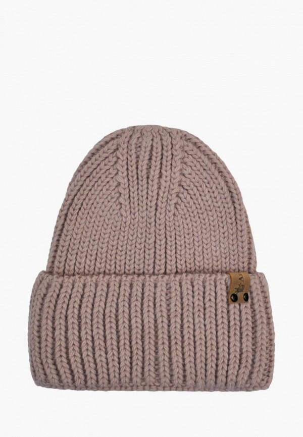 шапка anmerino для мальчика, розовая