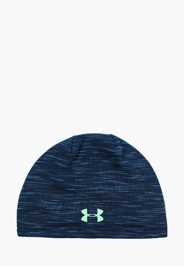 шапка under armour для мальчика, синяя