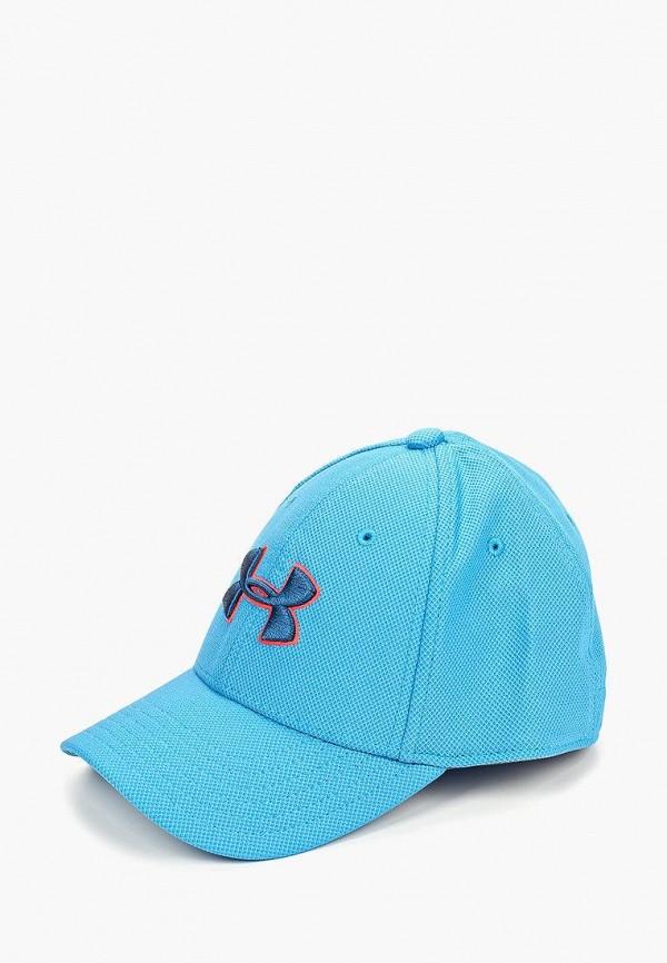 бейсболка under armour для мальчика, синяя
