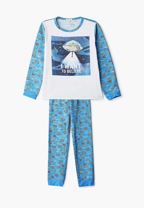пижама trenders для мальчика, синяя