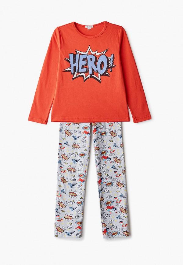 пижама trenders для мальчика, красная