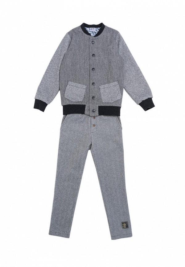 костюм yes!kids для мальчика, серый